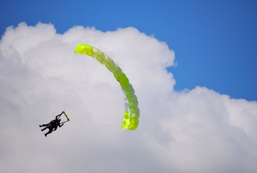 Nur fliegen ist schöner - die Top 3 Fallschirme für professionelle Skydiver