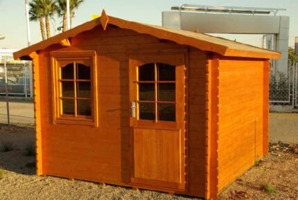 hoby ebro timber log cabin shed studio - Garden Sheds Queanbeyan