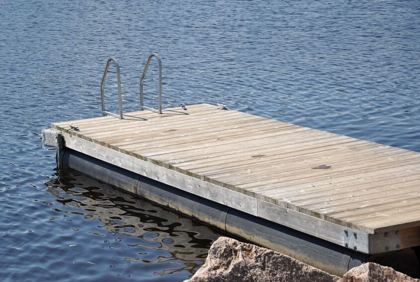 How To Build A Floating Dock Ebay