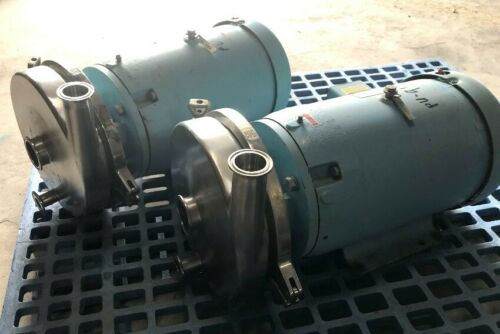 "Waukesha Cherry Burrell model 2085LV sanitary centrifugal pump 2""x1.5"""