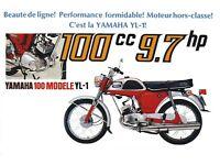 Yamaha yl1 100cc twin engine.