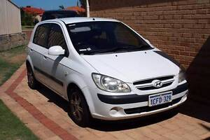 2006 Hyundai Getz Hatchback Carramar Wanneroo Area Preview