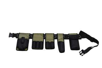 Scaffolding Nylon Tools Belt 6 In 1 Pockets Pouch Spanners Tape Level Holder