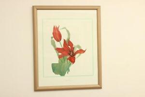 Framed Watercolour Print