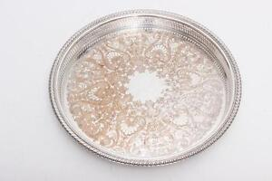 Silverplate Gallery Tray