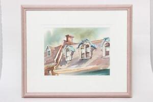 Framed Watercolour