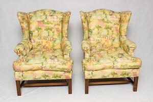 Wingback Arm Chairs