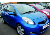 TOYOTA YARIS 1.4 DIESEL DUAL BRAKES 2010 REG 139,000 MILES 3 DOOR HATCHBACK MANUAL