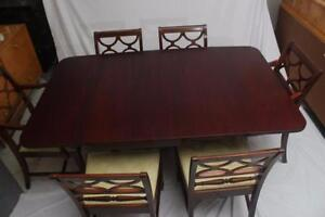 Duncan Phyfe Dining Set | Buy or Sell Dining Table & Sets in ...