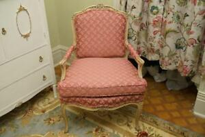Antique Fauteuil French Armchair