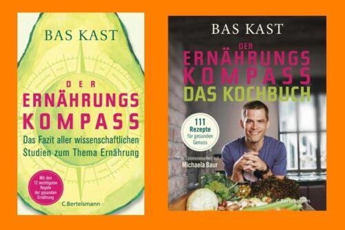 Bas Kast - Der Ernährungskompass + Das Kochbuch im Set - Portofrei