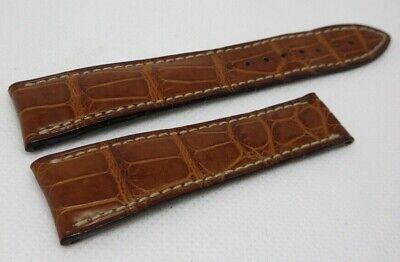 Blancpain 20mm Brown Alligator Strap OEM Genuine XS Short Size