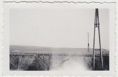 (F29003) Orig. Foto Brücke im Pfalzfeld nach Norath 1940