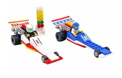 Vintage 1989 Lego - #6591 Nitro-Dragsters Complete w/ Instructions (Retired)