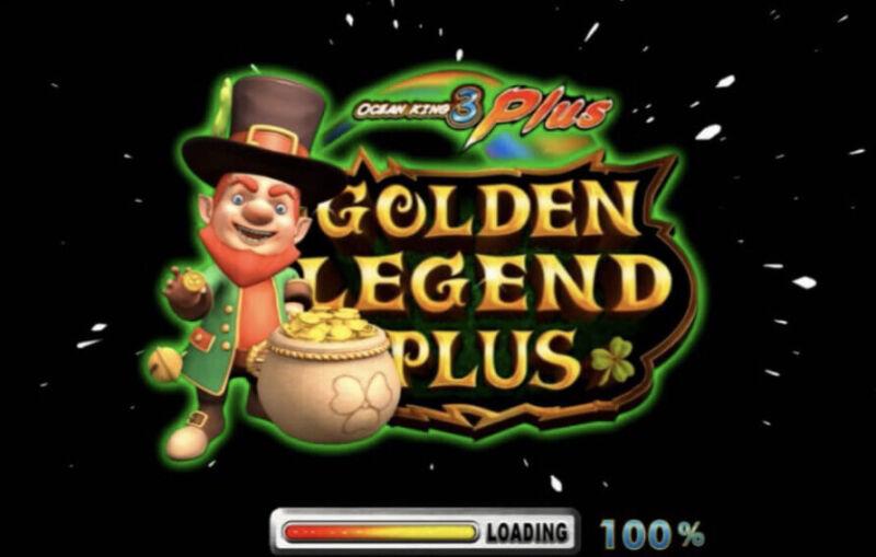 Ocean King 3 -GOLDEN LEGEND PLUS- SKILL FISH TABLE GAME