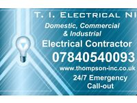 T. I. Electrical NI (Fully Qualified & Insured Electrician / Spark)