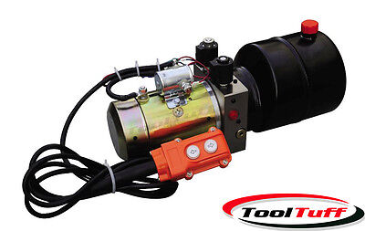 Double Acting Hydraulic Power Unit, Remote Dump Tipper Trailer Power Unit, NEW