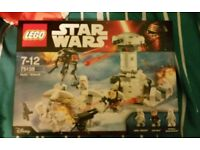 Lego star wars set 75138 Hoth attack