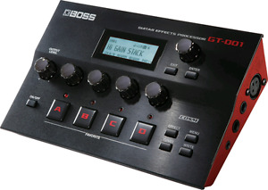 Boss GT-001 guitar fx and more