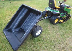 ** 20 CU/FT, 1500 LB ~ Very HEAVY DUTY GARDEN TRAILER ~ FOR GARD