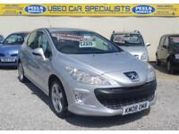 """57,000"" 2008 (08) Peugeot 308 1.6 VTi 120bhp Sport SILVER * IDEAL FAMILY CAR *"