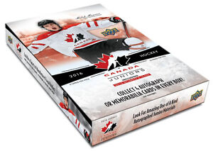 16-17 Upper Deck Team Canada Juniors Available August 31st