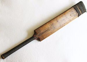 "Vintage Cricket Bat - Gunn and Moore ""The Cannon"" 1940's-50's?"