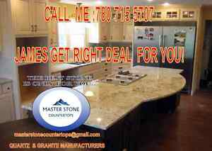 COUNTERTOPS!  ONLY FOR YOU GET THE BEST QUARTZ IN THE TOWN