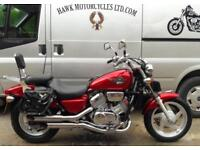 STUNNING 1999 HONDA VF750C-J MAGNA, 27206 MILES,SADDLEBAGS, COBRA EXHAUSTS