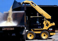 MINI SKID STEER & LARGE SKID STEER FOR HIRE AT WB CONTRACTING! C