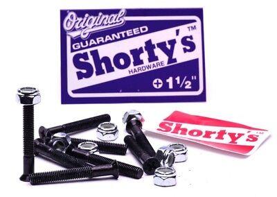 """Shortys 8 PACK Skateboard Hardware 1 1/2"""" PHILLIPS"""