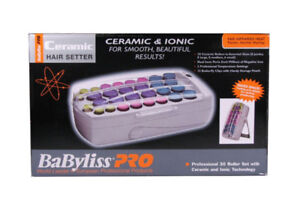 BaByliss Pro BABHS40C Ceramic and Ionic 30-Roller Hair Set
