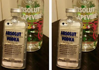 iphone4/4S AND 5/5SABSOLUT VODKA CASES NICE ,SOFT AND STRONG