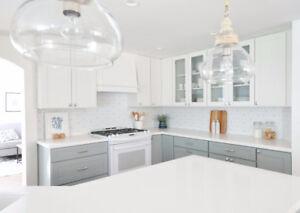 Solid Maple Cabinets 50% OFF,*Granite/Quartz Countertop From $45