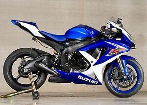 2008-2010 GSXR750 GSXR 750 Suzuki M4 Exhaust GP Black Full System