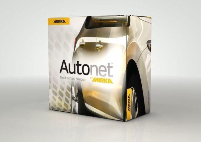 50 Mirka Autonet Velcro disc Grinding wheel Power grid 150 mm Grain 320