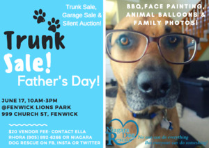 Trunk Sale **VENDORS WANTED**