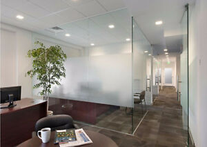 Office Glass Partition Walls- Glass Doors from $12 sqf, Sunroom