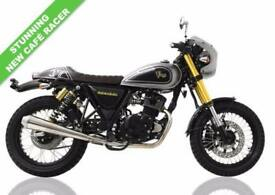 2017 17 SINNIS 125CC NEW FOR 2017 CAFE RACER