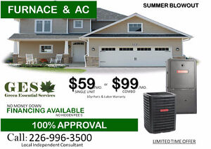 SUMMER BLOW OUT ( FURNACE & AIR CONDITIONER )