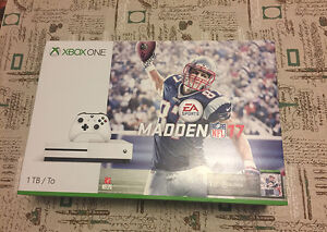 BRAND NEW XBOX One S 1TB with Madden 17 for sale!! SEALED!!!~~~~