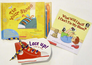 SHOELACE Practice with these 3 FUN BOOKS!