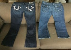 4 Paires de Jeans True Religion 100% Authentic