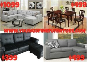2PCS FABRIC SECTIONAL $449 LOWEST PRICE Kitchener / Waterloo Kitchener Area image 4