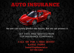 CHEAP CAR INSURANCE! CALL TODAY FOR A FREE QUOTE 647-986-6464
