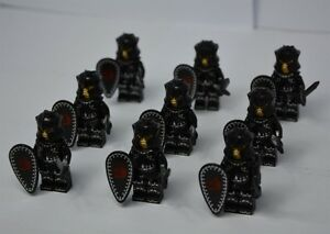 BRAND NEW SEAL CASTLE MINIFIGURES (LEGO FITS)