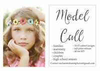 MODEL CALL! Don't miss out! Families, Couples, Children etc.
