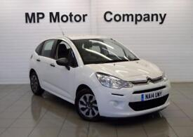 2014 14 CITROEN C3 1.0 VT 5D 67 BHP,5DR 5SP ECONOMICAL HATCH, WHITE, 27,000M,FSH