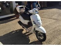 SYM fiddle 2 125cc scooter moped 2014