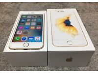 iphone 6S 16GB gold, unlock any network! Phone working perfect!